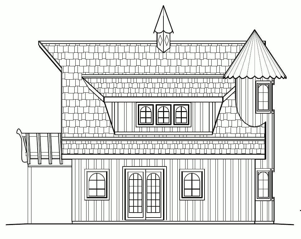 Small castle house plans find house plans for Small castle floor plans
