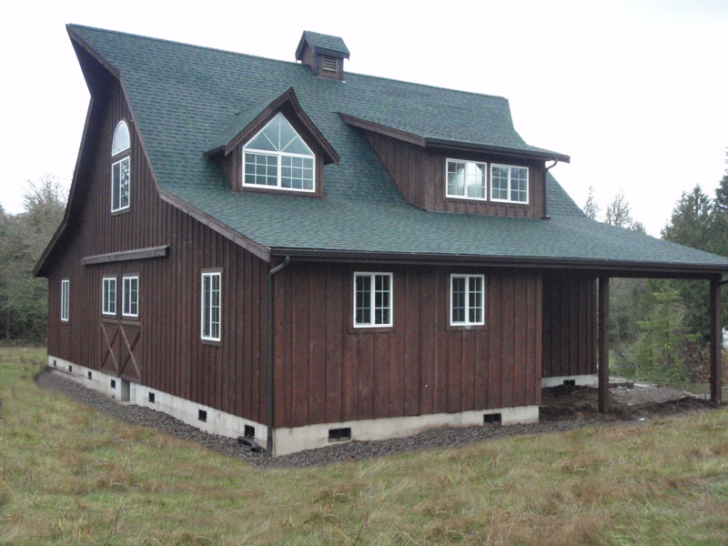 Timber frame barn kit michigan must see for House plans with shed dormers