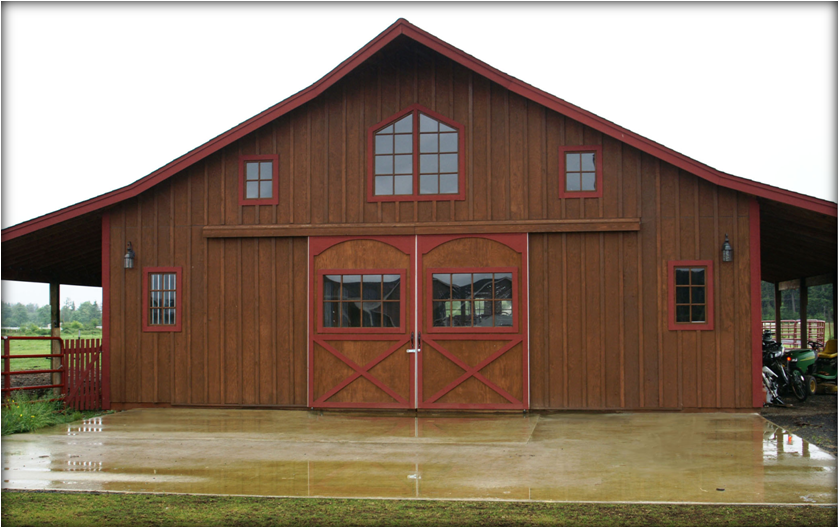 Barn kits the barn factorythe barn factory for Wood barn homes