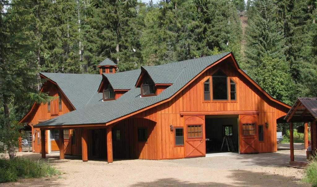 Earthbag Building: Barn-style House Plan