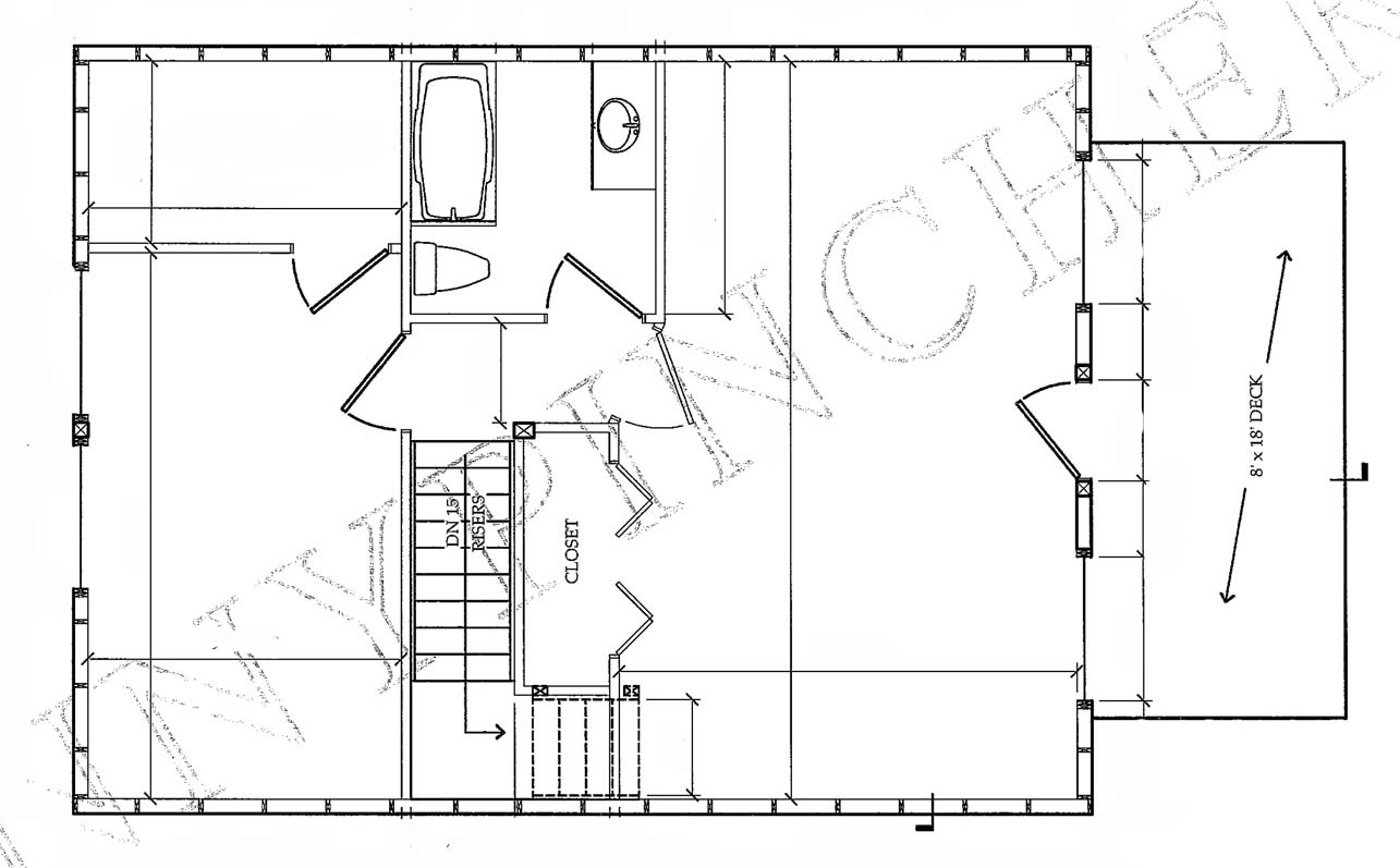 Small cabin floor plans find house plans Cabin floor plan