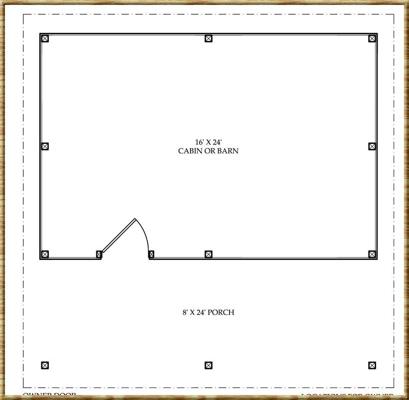 16x24 Barn Plans Homedesignpictures