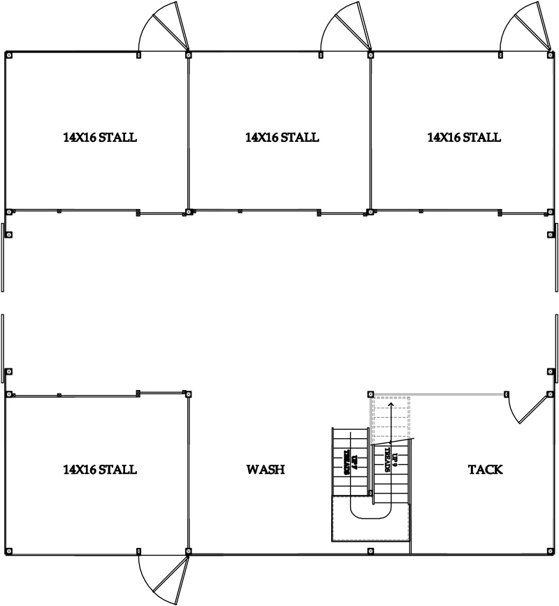 Show Cattle Barn Floor Plans Quotes